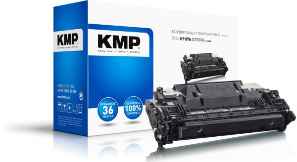 Toner KMP do HP 87A (CF287A)