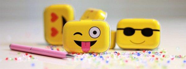Mini pudełeczka Emotikonki
