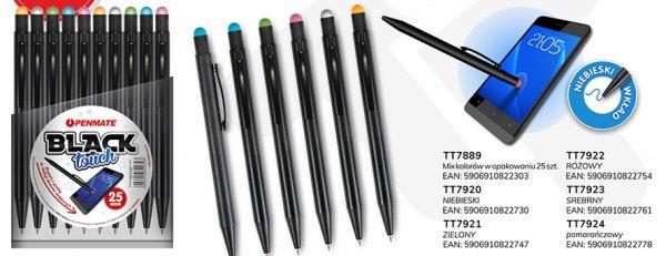 Długopis metalowy Black Touch