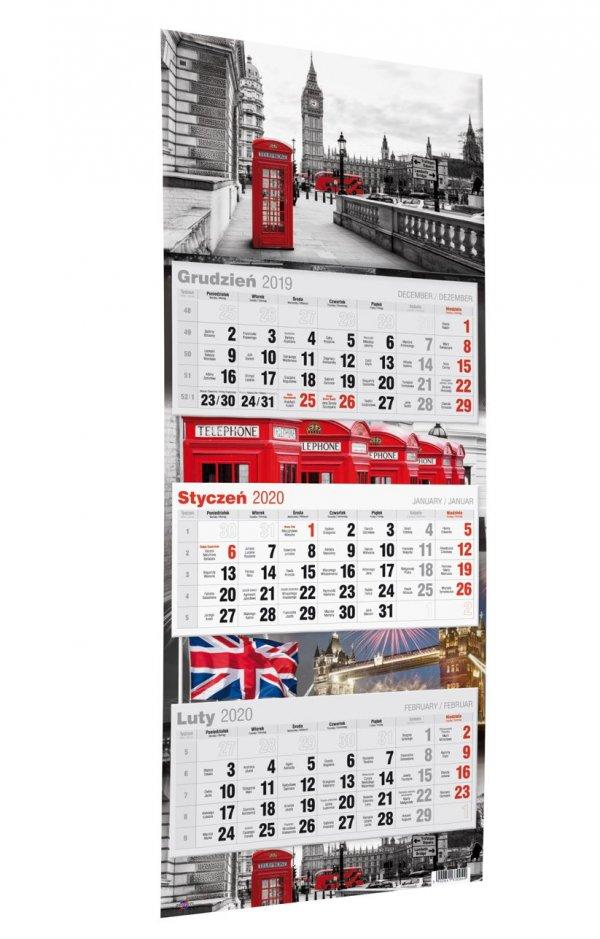 Trójdzielny Kalendarz Avanti